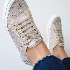 SUPERGA Lace Pattern Sneakers